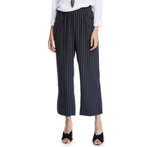 Eileen Fisher tencel stripe pants